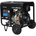 Дизельный генератор Hyundai DHY-6000LE