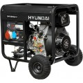 Дизельный генератор Hyundai DHY-6000LE-3
