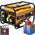 Бензиновый генератор Skiper LT4000В+Подарок!