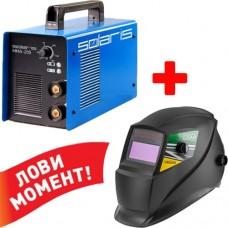 Сварочный аппарат Solaris MMA-205+маска DGMV6000